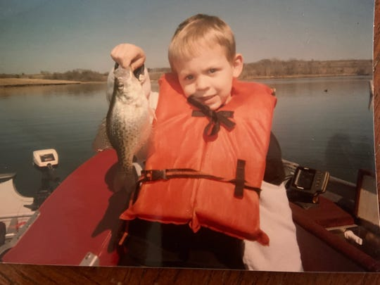 Benjamin Joel Peterson shown as a child in an undated family photo. The Des Moines native and avid outdoorsman died March 31, 2020 in a helicopter crash in Audubon County at the age of 23. Those who knew him Ben remembered him as a smart and caring man who loved nature and his faith.