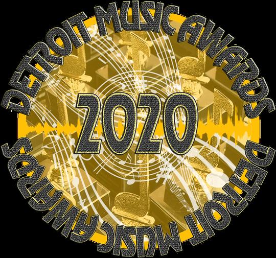 Detroit Music Awards 2020 logo