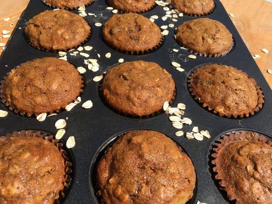Pineapple Raisin Muffins