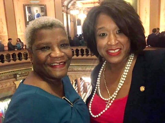 Sisters State Rep. Sherry Gay Dagnogo, right and Julena Gay, who died Tuesday, April 14 from complications of coronavirus infection.
