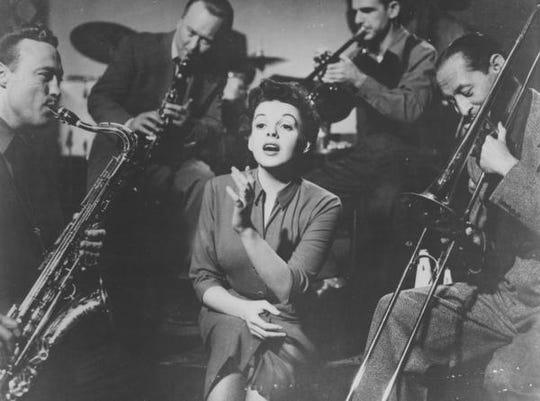 Judy Garland in 'A Star is Born.'