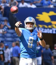 Former Lions quarterback Brad Kaaya has yet to appear in a regular-season NFL game.