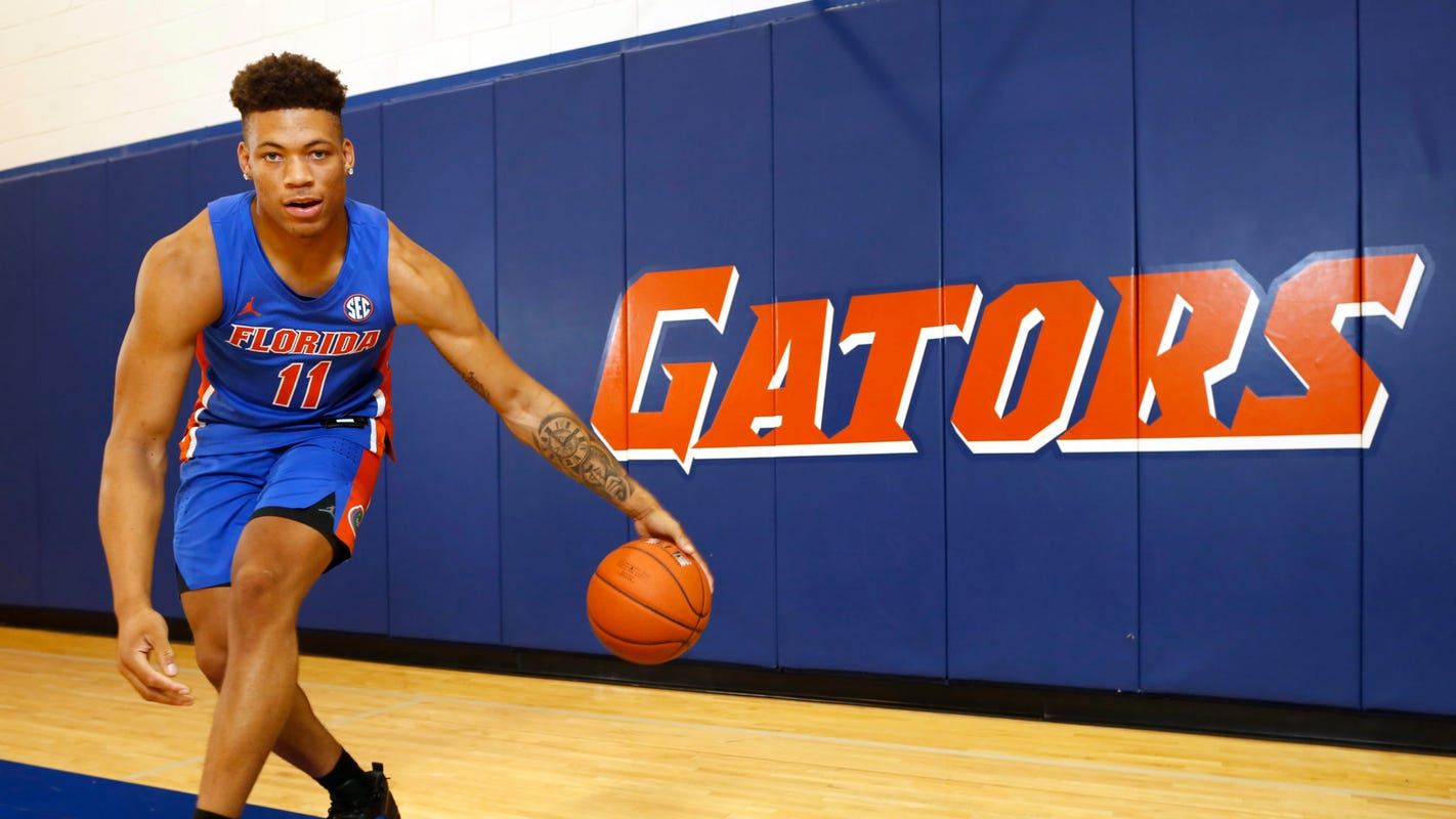 Florida basketball player Keyontae Johnson in stable condition, breathing on his own, parents say