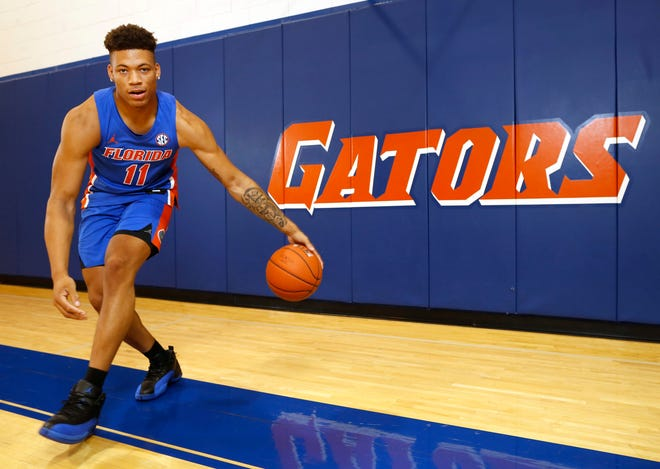 Keyontae Johnson led Florida in scoring with 14 points per game this past season while chipping in 7.1 rebounds per game.