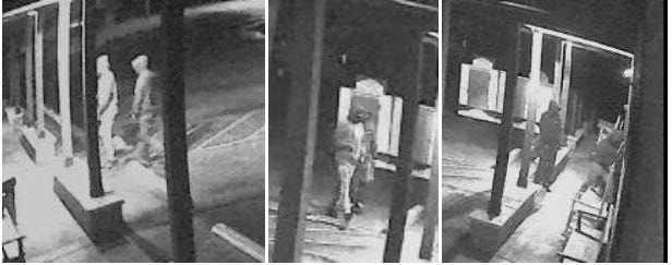 Michigan State Police released security footage of a break-in at the Unadilla Store on April 13, 2020.