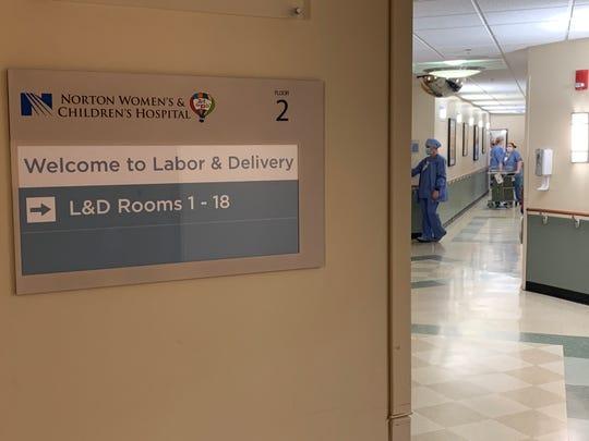 Norton Women's & Children's Hospital labor & delivery unit.