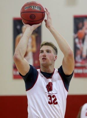Joe Hedstrom played in six games for the Badgers this past season.