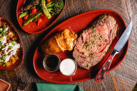 Buckatabon Tavern & Supper Club is offering carryout prime rib dinners for one, two or four people.