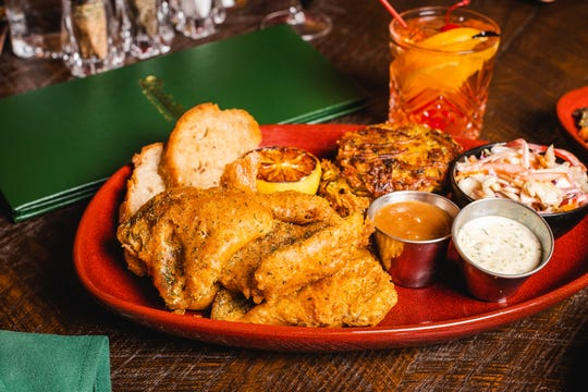 Buckatabon's brief takeout menu includes haddock fish fry, at $15 for one, $23 for two and $41 for four.