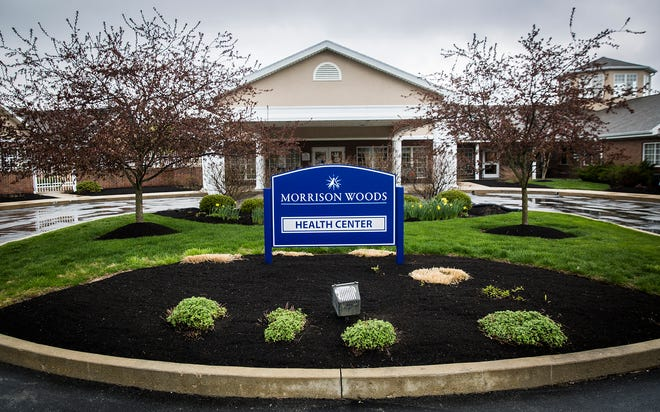 The exterior of Morrison Woods Health Campus Wednesday, April 15, 2020.