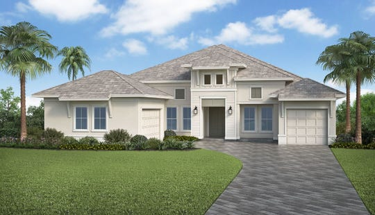 Stock Signature's Bimini model is one of several models available at Naples Reserve.