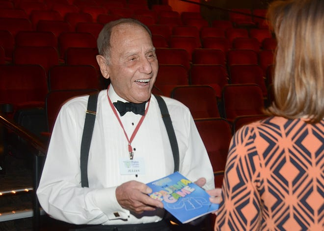 Julian di Ciurcio has been a volunteer at Palm Canyon Theatre, among other nonprofits, since moving to the Coachella Valley in 2000.