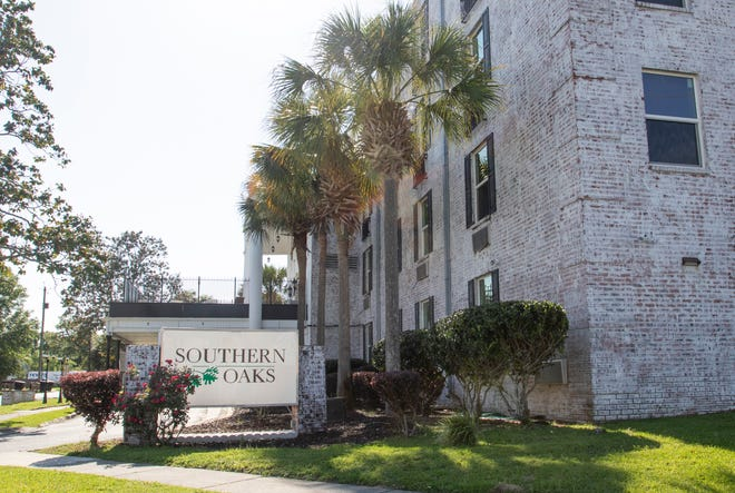 Southern Oaks Care Center on West Gregory Street in Pensacola on Wednesday, April 15, 2020.
