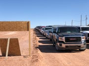 St. Mary's Food Bank distributed food to 2,00 families on the Navajo Nation, marking its largest single mobile pantry distribution in history, the agency announced on April 14, 2020.