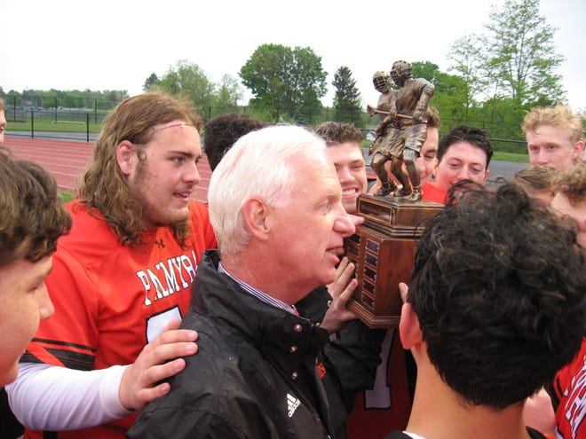Coach Dave Ondrusek's Palmyra boys lacrosse team was 64-8 over the past three years.