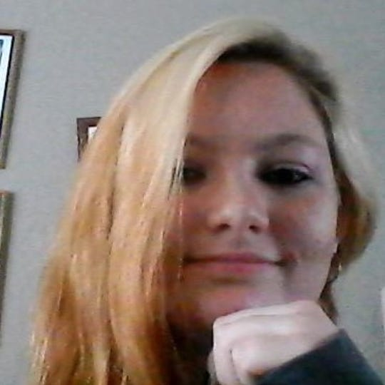 A photo of 15-year-old Ariana Nicholson-Rohrer, who was reported missing along with her infant child.