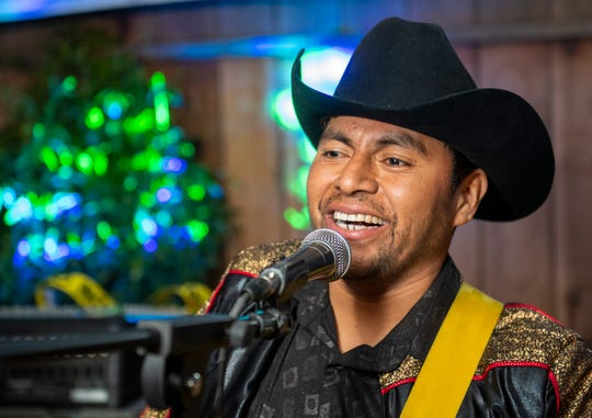 Max Cenobio, 30, is the lead vocalist of Max Y Su Sierreno a Mexican band based in Greenfield that plays locally throughout the Monterey County.