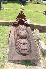 History lesson in Oakland Cemetery in Shreveport.