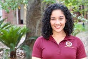 Grace Manno, a senior at Florida State University and president of the Academic Recruitment Organization.
