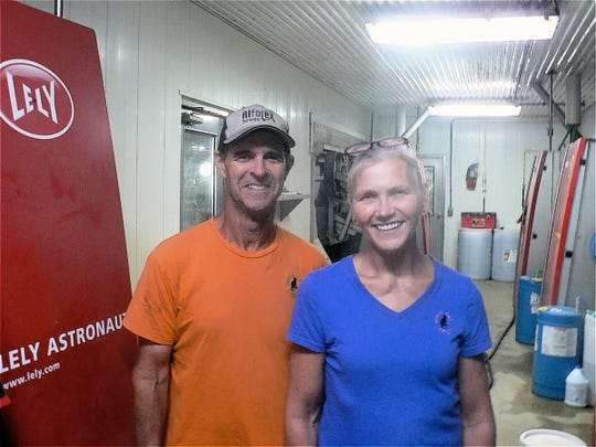 Jennifer and Tom Leedle and their son Jason own Black Cat Dairy at Lake Geneva. They have dumped milk for  two weeks.