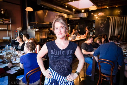 Naomi Pomeroy, chef and owner of Beast in Portland, Oregon.