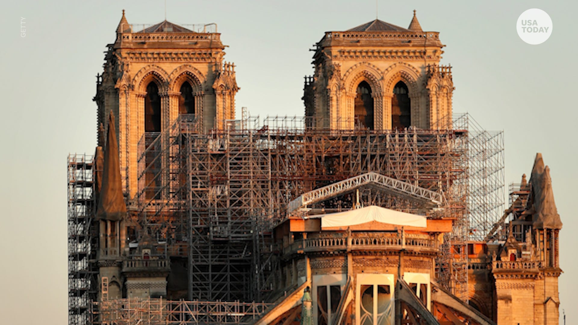 Notre Dame Cathedral A Year Later Restoration Halted By Coronavirus