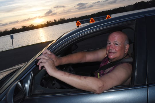"""""""Nothing compares to the beauty of this place,"""" said Jackson Sleet. He calls himself a """"driving photographer"""" because he likes to take photos from his car as he drives around Lake Buhlow. Sleettakes some pretty amazing pictureswith his point and shoot camera."""