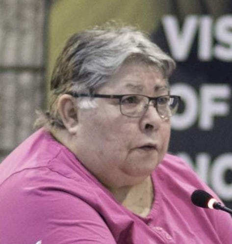 Sue Prokosch was a longtime Newburgh school board member.