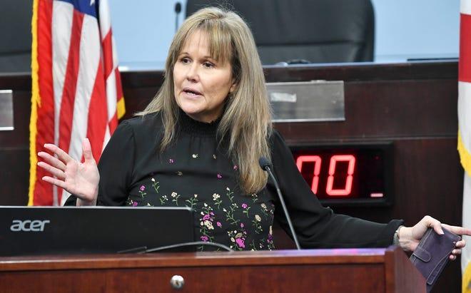 Brevard County Commissioner Rita Pritchett, in a 2020 file photo.