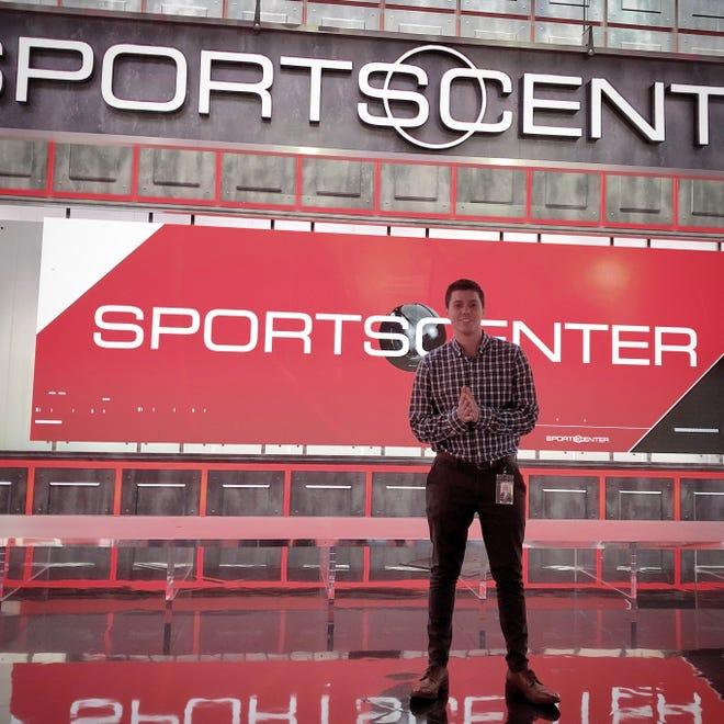 Moorestown's Andrew Helfman is working his dream job at ESPN.