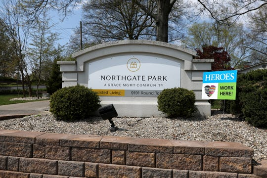 Northgate Park, an assisted-living facility, pictured, Thursday, April 16, 2020, accounts for 37 of the 88 cases of COVID-19 in Southwest Ohio nursing homes, the state reported Thursday morning.