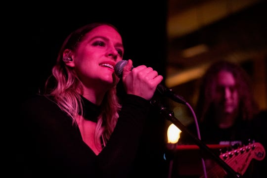 """One of the original cast members of """"Taking the Stage,"""" singer-songwriter Mia Carruthers still lives and performs in Cincinnati, but has also become well-known as a music producer and engineer."""