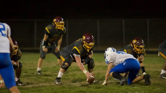 Dominic Rulli played center and defensive line for the Cooper Jaguars before moving on to The Taft School in Connecticut for two more seasons