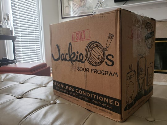 A shipment of beers from Jackie O's.
