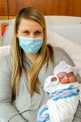 Kerry Foote with her daughter, Leah Rose