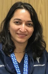 Sundara Ganti, an associate nurse manager at Beaumont Grosse Pointe, said her support system these past few weeks has been her friends, family and coworkers.