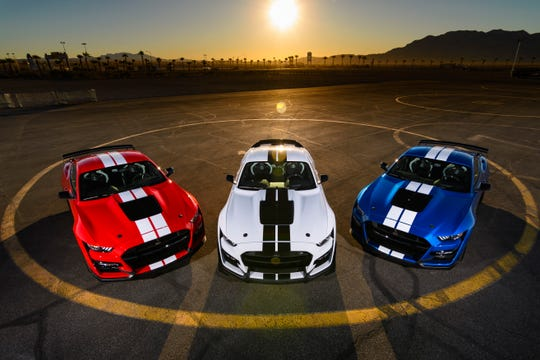The 2020 Mustang Shelby GT500 -is the most powerful street legal Mustang ever.