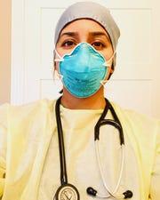Sadia Haq, Emergency medicine physician assistant at Ascension St. John in Warren and Beaumont Royal Oak.