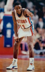 Isiah Thomas led to the Pistons to back-to-back NBA titles in 1989 and 1990.