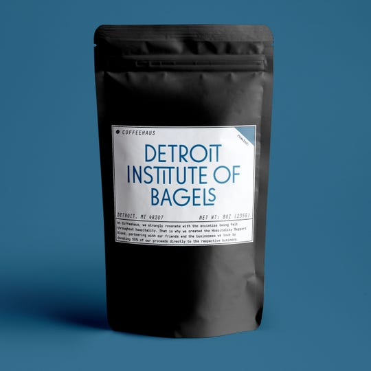 Coffeehaus is selling private label bags of coffee to raise funds for Detroit-area restaurants