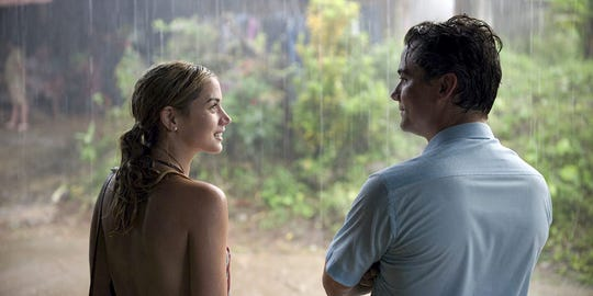 """Ana de Armas and Wagner Moura in """"Sergio."""""""