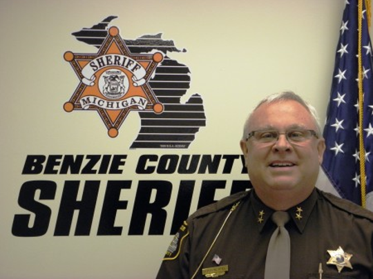 Ted Schendel is sheriff of Benzie County in northern Michigan.