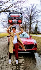 "Anne Russo as Lloyd Dobler in ""Say Anything."""