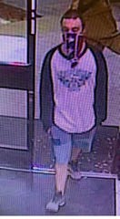 Southwest Florida Crime Stoppers is asking for the public's help tracking down a man who robbed two North Fort Myers convenience stores overnight.