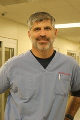 Dr. Mike Odinet is an emergency room physician for Our Lady of Lourdes.