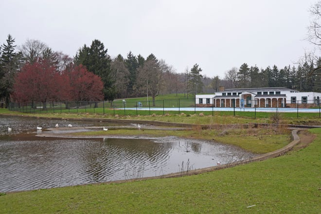 The master plan, prepared by EMH&T, recommends Liberty Park be the site of a new swimming pool or splash pad.