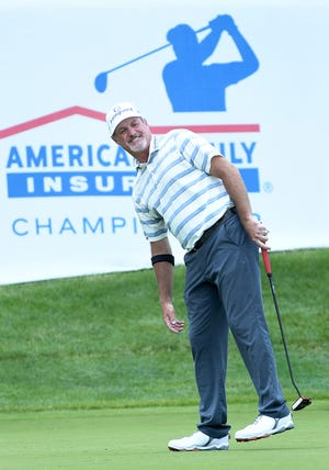 Jerry Kelly won the 2019 American Family Insurance Championship in his hometown of Madison.