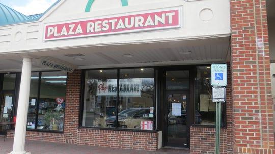 The Plaza Restaurant at Del's Village shopping center in Boonton. April 16, 2020