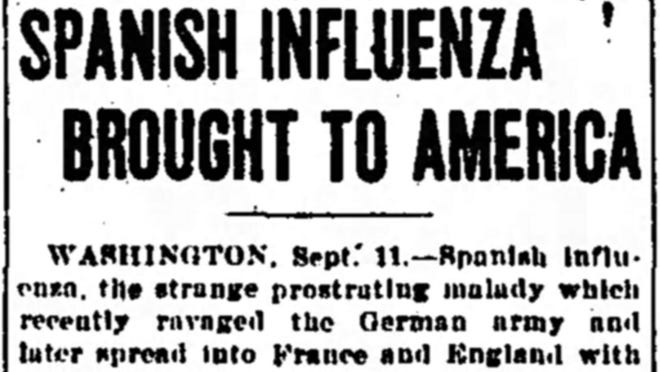 Tennessean archives: How the Spanish Flu pandemic came to Nashville
