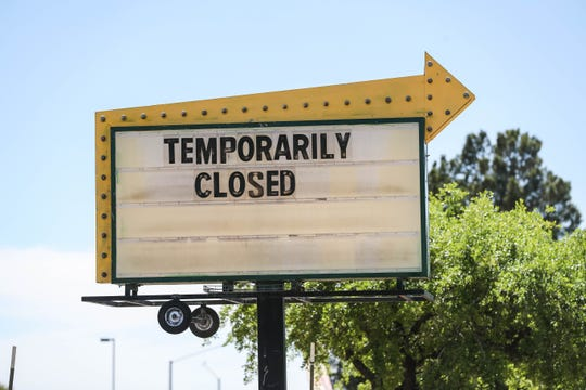 Stores all over Las Cruces close down temporarily due to Coronavirus concerns.